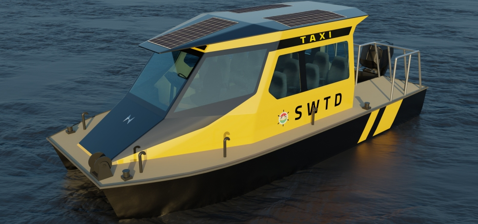 Water taxi by Navgathi